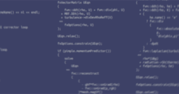 C++ Source Guide – OpenFOAM